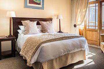 Royal Terrace's standard rooms are perfect for single persons or couples.